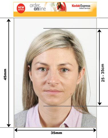 how to set photo like usa visa standard